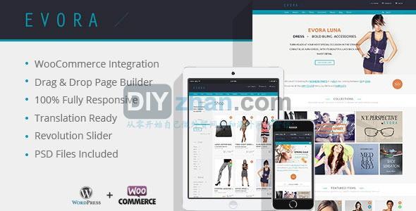 Evora-Responsive-e-Commerce-Theme